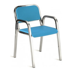 Nine-0 Stacking Armchair, Soft Back