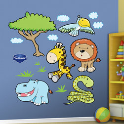 Fathead - Fathead Vinyl Wall Graphic - Jungle Animals 3