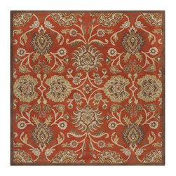 Surya - Surya CAE1062-24HM Caesar Traditional Hand Tufted Wool Rug - Surya's best selling creations have been infused with possibilities as the Caesar collection takes on new life. Designer color combinations including deep browns, charcoal gray, and muted red make these time-honored pieces suitable for any interior. Hand tufted in India of 1% wool, each rug is available in over 2 sizes, and in a variety of styles such as round, square, oval and mansion-sized.