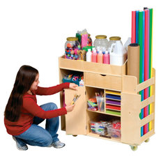 modern toy storage by Children's Organizers