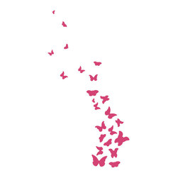 Dana Decals - Butterfly Wall Decal - Ideal for homes, kids rooms, and schools.
