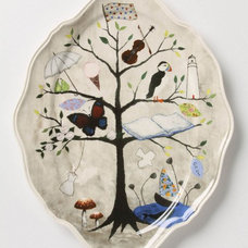Contemporary Platters by Anthropologie