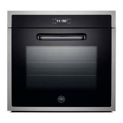 "Bertazzoni 30"" Design Series Single Electric Wall Oven, Stainless 