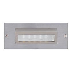 Jesco Lighting - Jesco HG-ST10B-12V-30 LED Recessed Wall Aisle and Step Lights - Jesco HG-ST10B-12V-30 LED Recessed Wall Aisle and Step Lights