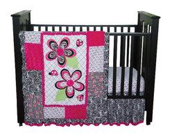 Trend Lab - Trend Lab Zahara 3-Piece Crib Bedding Set - The Zahara 3-piece Crib Bedding Set by Trend, along with the Zahara bedding accessories.