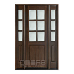 Classic Collection (Custom Solid Wood Doors) - DB-131 2SL CST