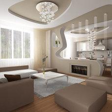 Contemporary Kitchen by Cronos Design