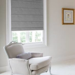 Roman Shades - Do you have the armchair? Let's add the shade!