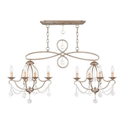 Livex Lighting - Livex Lighting LVX-6437-73 Island/Chandelier - Livex Lighting LVX-6437-73 Island/Chandelier