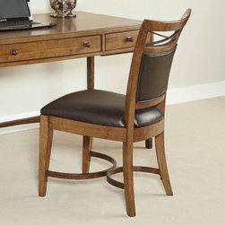 Hammary - Hammary Home Office Desk Chair-KD - Hammary Home Office Desk Chair-KD
