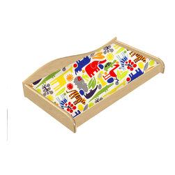 "Room Magic - Zoo 4 U Changing Pad Cover - Coordinating Zoo 4 U Changing Pad Cover fits standard size changing pads, 32""w x 16""D x 4"" H"