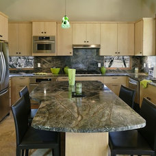 Contemporary Kitchen Countertops by Artisan Group Stone and Wood Countertops
