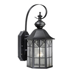 "Vaxcel Tudor 7"" Outdoor Smart Light SR53128OR - For over 20 years, Vaxcel International has been a premier supplier of residential lighting products. Our product offering is composed of more than 2000 items, ranging from builder-ready fixtures and ceiling fans to designer chandeliers and lamps, in the latest styles and finishes. We are known in the industry for offering a full selection of products at competitive prices. Everyday, we at Vaxcel work hard to be the best business partner to our customers, by providing the best service, quality, and innovation in lighting."