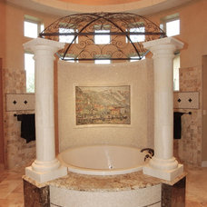 Mediterranean Bathroom by Stadler Custom Homes
