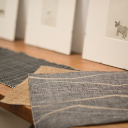 Cloth and Goods - Square Placemats from Japanese linen/silk made by Cloth and Goods