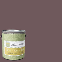 Inspired Semi-Gloss Interior Paint, Wood .05, Gallon - Colorhouse paints are zero VOC, low-odor, Green Wise Gold certified and have superior coverage and durability. Our artist-crafted colors are designed to be easy backdrops for living. Colorhouse paints are 100% acrylic with no VOCs (volatile organic compounds), no toxic fumes/HAPs-free, no reproductive toxins, and no chemical solvents.