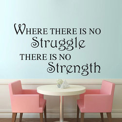 ColorfulHall Co., LTD - Wall Posters No Struggle No Strength - Wall Posters No Struggle No Strength
