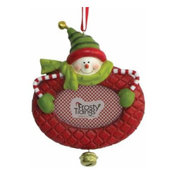 WL - Red Frame Holiday Christmas Tree Ornament with Say Cheese Snowman - This gorgeous Red Frame Holiday Christmas Tree Ornament with Say Cheese Snowman has the finest details and highest quality you will find anywhere! Red Frame Holiday Christmas Tree Ornament with Say Cheese Snowman is truly remarkable.