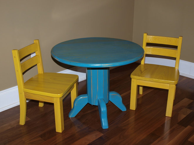 Traditional Kids Tables by Old South cypress Works
