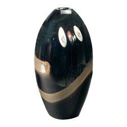 Dale Tiffany - Dale Tiffany PG80156 Santiago Contemporary Vase - Santiago Vase