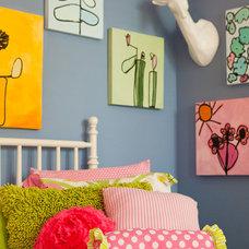 Contemporary Kids by Garrison Hullinger Interior Design Inc.