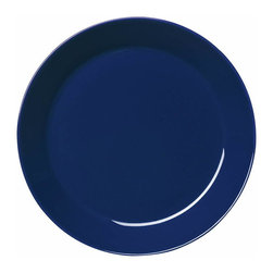 Iittala - Teema Salad Plate, Blue - Classic ceramic salad plates never go out of style. This modern take on the plate would be a lovely addition to any home. A set of these would be the perfect housewarming gift for a young couple just building a life together.