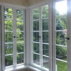 Contemporary Windows by Masonry & Glass Systems