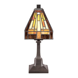 Quoizel Lighting - Quoizel TF1018TVB Stephen 1 Light Table Lamp, Vintage Bronze - This 1 light Table Lamp from the Stephen collection by Quoizel will enhance your home with a perfect mix of form and function. The features include a Vintage Bronze finish applied by experts. This item qualifies for free shipping!