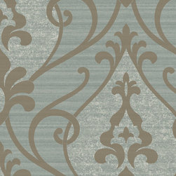 York Wallcoverings - GN2413 Wallpaper, Double Roll - Prepasted: Paste has already been applied to the back of the wallpaper and is activated with water.