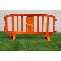 MLR INTERNATIONAL - Movit Barricade - Orange - Orange Plastic Movit Barricade