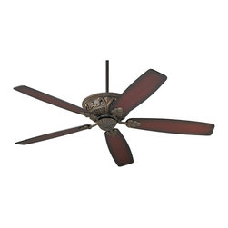 """Casa Vieja - Traditional 60"""" Casa Montego™ Bronze Cherry Ceiling Fan - Feel the cooling breeze from this rich-looking Casa Montego™ ceiling fan. Features a bronze finish and cherry shaded blades in a new tapered shape. Lifetime motor warranty. 60"""" blade span. 14 degree blade pitch. 4.5 inch downrod included.  Bronze finish.  Cherry shaded blades.  Lifetime motor warranty.  60"""" blade span.  14 degree blade pitch.  Pull chain operation.  4.5"""" downrod included.  Fan height 13.8"""" ceiling to blade (with 4-1/2"""" downrod).  Includes 4 1/2"""" downrod.  Canopy 2.24"""" height and 5.16"""" wide."""