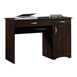 Sauder - Sauder Beginnings Desk in Cinnamon Cherry - Sauder - Computer Desks - 413072