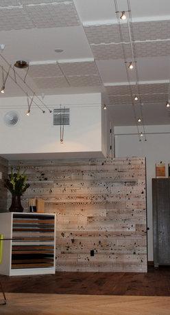 Wall Paneling - Nor-Cal Floor Design, Inc showroom-