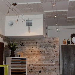 Wall Paneling - Nor-Cal Floor Design, Inc showroom-