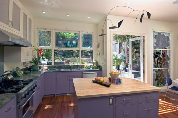 Eclectic Kitchen by Jeff King & Company