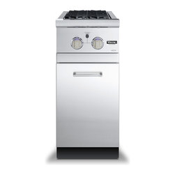 """Viking 16"""" Side Burner Base Cabinet, Stainless Steel 