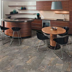 Florim Tile, Jewel - Florim Jewel porcelain tile is a stone-inspired collection that takes its influence from both travertine and slate.