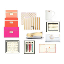 Rachel George Deluxe Office Set: Kate Spade, Reiko Kaneko, Russell + Hazel - This set includes all items in photo!
