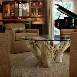 Wine Room - Cactus Table and Custom Wine Table