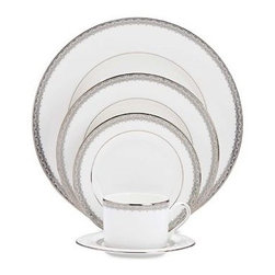 Lenox - Lenox Lace Couture 5-Piece Place Setting - Lenox Lace Couture 5-Piece Place Setting