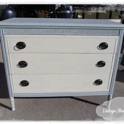 French Grey Dresser - Vintage Street Designs