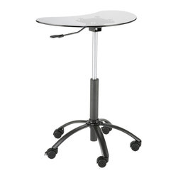 Euro Style - Euro Style Malcolm Laptop Stand X-11372 - Euro Style Malcolm Laptop Stand X-11372