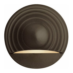 Round Eyebrow Deck Wall Sconce by Hinkley Lighting -