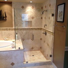 Modern Showers by HOVOSON