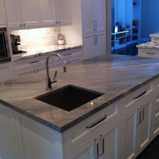 Contemporary Kitchen Islands And Kitchen Carts by Crystal Tile and Marble