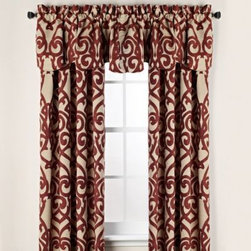 """Welcome Industrial Corporation - Pennington Rod Pocket Window Curtain Panels - These stylish, chenille fabric window curtain panels add warmth and beauty to any room. Available in a fresh color palette of several colors. The panels are sold individually and measure 50"""" wide."""