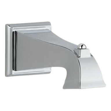 Delta - Delta RP54323Delta Tub Spout - Non-Diverter (Chrome) - With its large assortment of accessories and styles, the Delta series is sure to have the perfect combination of products for any application.