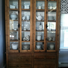 Transitional Storage Units And Cabinets by CANDICE ADLER DESIGN LLC