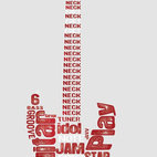 York Wallcoverings - Rock Guitar Large Wall Accent 15pc Music Stickers - FEATURES: