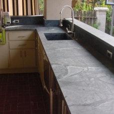 Outdoor Soapstone Kitchen Countertops & BBQs | Teresina Soapstone